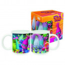 groothandel Koppen & bekers: Trolls -  porseleinen kop in geschenkverpakking