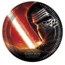 grossiste Cadeaux et papeterie: Star Wars - La  Force réveille assiettes en papier