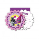 grossiste Cadeaux et papeterie: cartes  d'invitation  Trolls avec ...