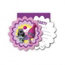 grossiste Cartes de vœux: cartes  d'invitation  Trolls avec ...