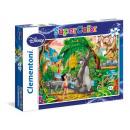 Peter Pan & Das  Dschungelbuch - 2x 20 Teile Puzzle