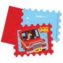 grossiste Cartes de vœux: Pat Postman -  cartes  d'invitation ...