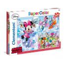 Disney Minnie - 3 x 48 pezzi