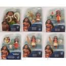 Großhandel Spielwaren: Disney Vaiana Little Kingdom Figuren - Sortiment