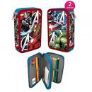 Großhandel Lizenzartikel: Federmappe  Avengers 19,5x13,5x4 cm