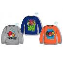 mayorista Ropa bebé y niños: Angry Birds - camisa de manga larga camisa del sué