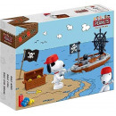 BanBao 7521 - kit, Snoopy pirate ship