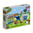 BanBao 7529 - Building Kit, Snoopy Baseball Stadiu