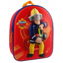 Fireman Sam To The  Rescue backpack 3D firefighters