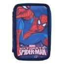 wholesale School Supplies: Federmappe Spiderman 19,5x13,5x4 cm