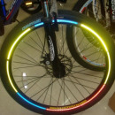wholesale Bicycles & Accessories: High-visibility stickers, reflective sticker