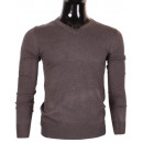 wholesale Pullover & Sweatshirts: PULL COL V BASIC RIGHTS BY LEEYO L002