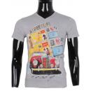 wholesale Shirts & Tops: TSHIRT WITH TOUR  EIFFEL PRINTED BY MAN B LEEYO