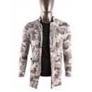 Großhandel Fashion & Accessoires: MAN CARDIGAN LONG  NECK SHAWL MILITAERISCHER