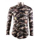 groothandel Kleding & Fashion: T-Shirt met lange  mouwen van X-FEEL YDL2802