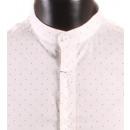 Großhandel Hemden & Blusen: SHIRT MAO KRAGEN  WEISS MAN AUFGRUND LEEYO