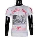 ingrosso Ingrosso Abbigliamento & Accessori: STAMPATO TSHIRT NY  STREET UOMO DA LEEYO BM1526