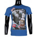 wholesale Shirts & Tops: TSHIRT MAN WITH  LARGE PRINTED BY LEEYO BM1517
