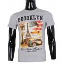 wholesale Shirts & Tops: TSHIRT PARIS  PRINTED BY MAN LEEYO BM1573