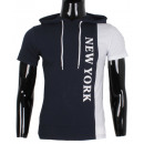 groothandel Kleding & Fashion: T-SHIRT KAP Man van LEEYO BM1552