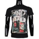 wholesale Shirts & Tops: TSHIRT MAN WITH  PRINTED BY LEEYO BM1519