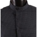 wholesale Shirts & Blouses: SHIRT ASYMETRIQUE  MARINE PATTERN MAN BY LEEYO
