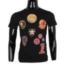 Großhandel Fashion & Accessoires: T-Shirt mit  aufgedrucktem  Motiv MANN DURCH ...