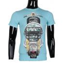 ingrosso T-shirts & Tops: TSHIRT GIUNTE CON  BICI DA UOMO LEEYO BM1523