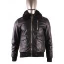 ingrosso Cappotti e giacche: UOMO giacca di  pelle con FALSO MENTEX S186 N