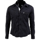 wholesale Shirts & Blouses: MEN'S JUST  SIMPLE crumpled REBEL BL99805