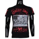 wholesale Shirts & Tops: PRINTED TSHIRT NY  STREET MAN BY LEEYO BM1526
