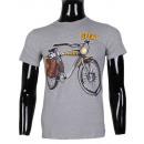 ingrosso T-shirts & Tops: MAGLIETTA UOMO CON  LA BOTTIGLIA stampato da LEEYO