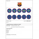 wholesale Balls & Rackets: FOOT BALL FC BARCELONA MESSI