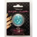 Nail Art -  Nagelglitter, blaue Sterne