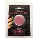 Nail Art -  Nagelglitter, neon pink