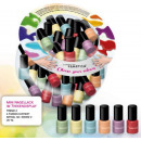 Mini Neon nail  polish trend colors 96 x 5ml St.