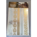 Metallic Tattoo - Din A5 - Design 1