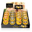 Lip Balm in Kugel  mit Smiley Aufdruck 6.5 g