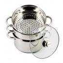 mayorista Cacerolas: KINGHOFF, listo para cocinar al vapor