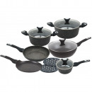 KLAUSBERG set of granite pots and pans