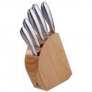 grossiste Jeux de Couteaux: KINGHOFF ensemble  de couteaux dans un bloc de bois