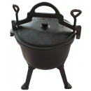 wholesale Barbecue & Accessories: KINGHOFF cast iron  kettle, enamelled, 7L, KH-2242