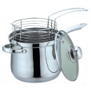 KINGHOFF saucepan with a frying basket