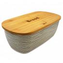 groothandel Huishouden & Keuken: Kassel container  brood, met snijden bamboe