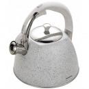 KLAUSBERG Wasserkocher 3l weißer Marmor KB-7261