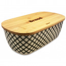KASSEL container for bread, with a bamboo board