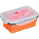 KLAUSBERG foldable silicone LUNCH BOX 0.4L