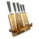 Großhandel Messersets: KASSEL 5 Stück Messersatz auf einem Ständer aus Ak