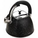 KLAUSBERG Wasserkocher 3l schwarzer Marmor KB-7259