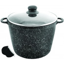 KINGHOFF, pot with granite coating 6.1 L